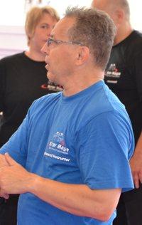 Angelo Savorani am 11. Krav Maga Self Protect Instruktoren-Lehrgang in Liestal