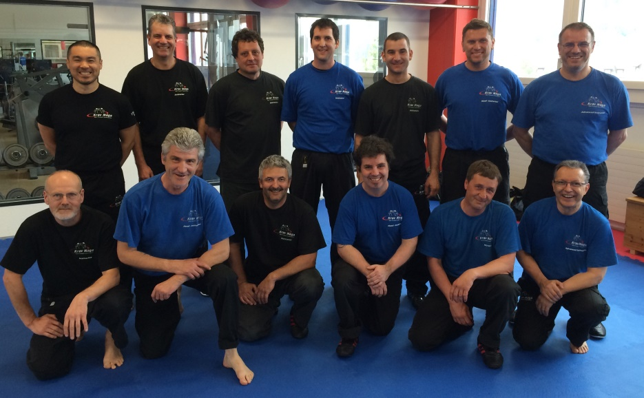 Krav Maga Self Protect Advanced-Instruktoren Lehrgang Gruppenfoto